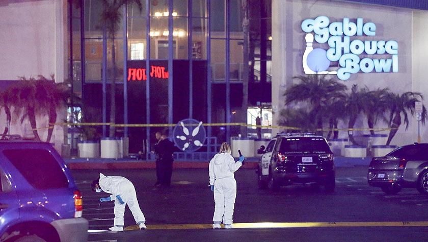 美国加州一保龄球馆发生枪击事件