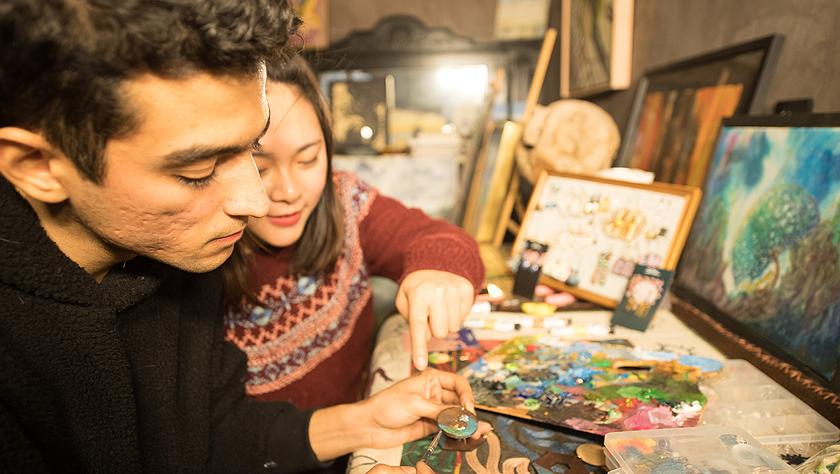 扎根中国山村的伊朗小伙 找到中国女友