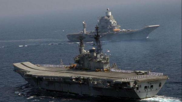 印海军参谋长披露庞大造舰计划 号称在航母领域比中国先进