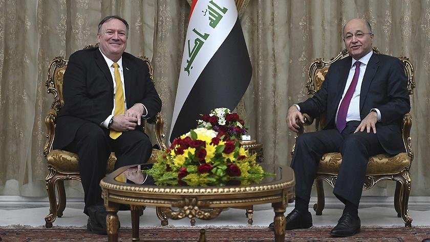 美国国务卿蓬佩奥突访伊拉克
