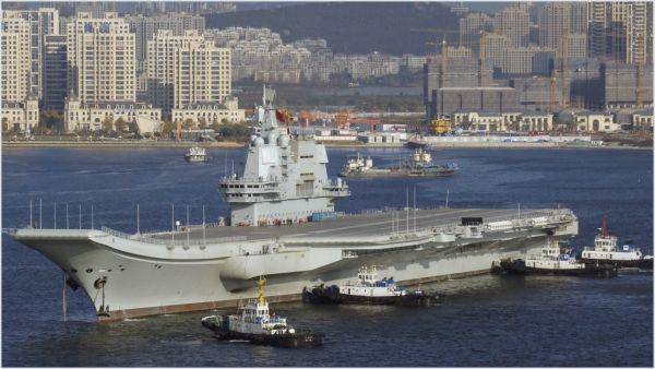 中国001A型航母完成了四次海试(香港《南华早报》网站)