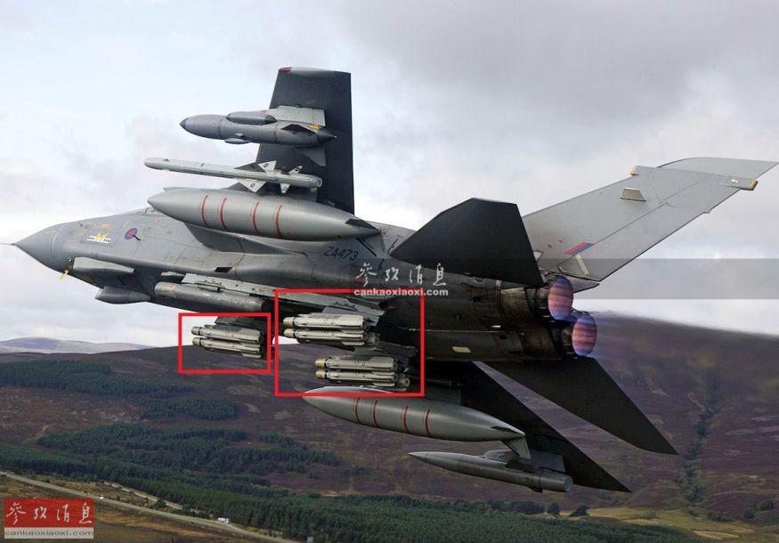 """""""硫磺石""""空地导弹的研发背景可追溯至冷战时期,当时出于对抗苏军装甲集群的作战需要,英国皇家空军(曾提出以美制""""地狱火""""导弹为蓝本,研发一种新型空地导弹,主要由固定翼战机搭载。""""硫磺石""""导弹的最大特点是多枚导弹可实现""""分工协作"""",同时消灭多个装甲目标。由于尺寸较小,英军""""狂风""""攻击机一次能搭载9至12枚""""硫磺石""""导弹作战。20"""