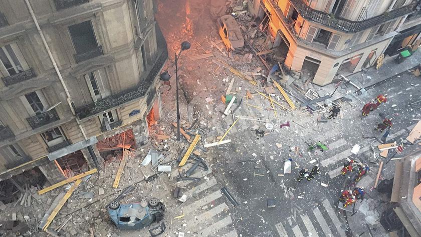 法国巴黎发生爆炸事件 导致数十人死伤