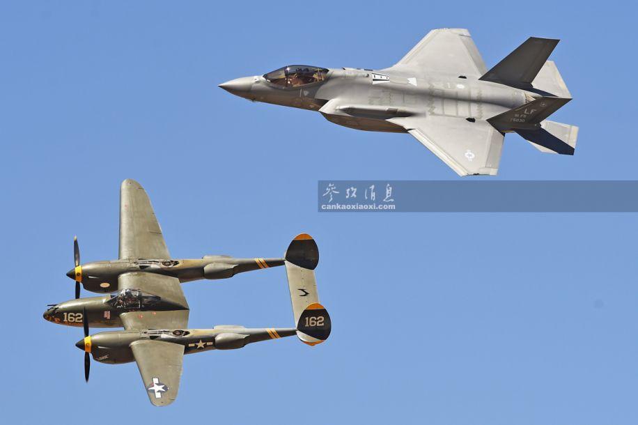 也会落叶飘?F-35A又来秀机动了