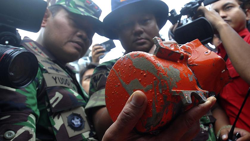 印尼打捞起去年失事的狮航客机第二个黑匣子