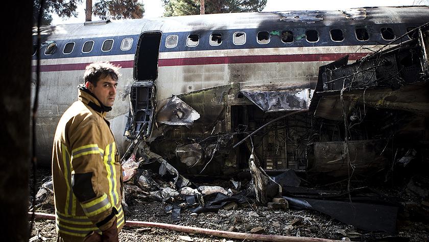 伊朗一架运输机在德黑兰附近失事 造成多人遇难