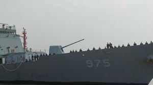 """韩国海军舰艇编队访问上海 韩媒称系""""萨德""""事件后首次"""