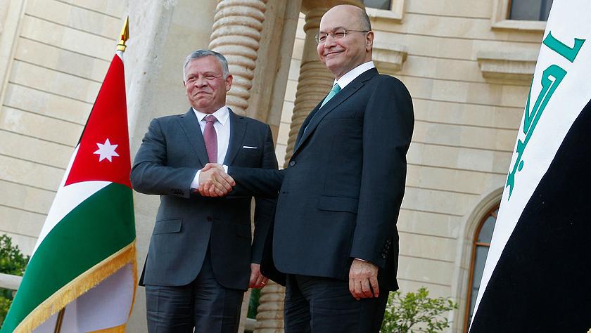 约旦国王时隔十年再访伊拉克