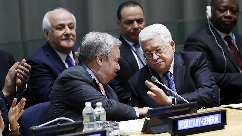 """巴勒斯坦接替埃及出任""""77国集团和中国""""主席国"""