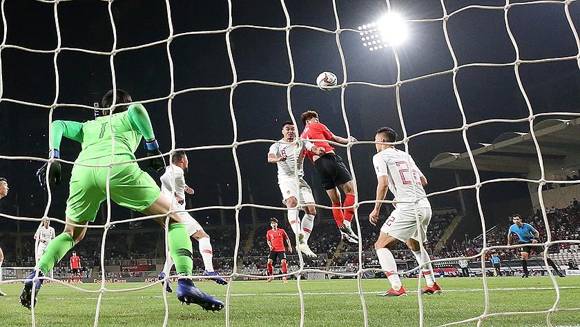 中国队0-2韩国队小组第二出线 亚洲杯淘汰赛战泰国