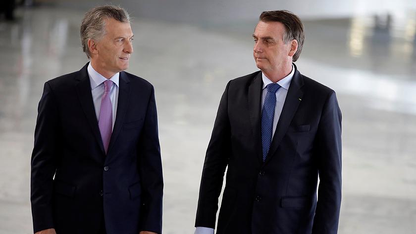 阿根廷总统访问巴西:双方将共同推动南方共同市场发展
