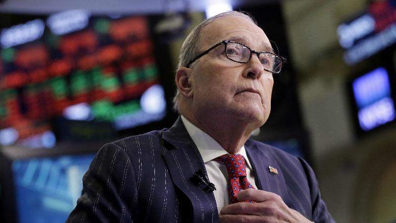 白宫经济顾问库德洛:中美贸易谈判取得进展