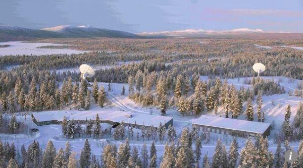 卫星接收站全景(图片来源:欧洲航天局)