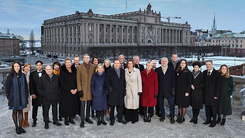 瑞典组成勒文新政府