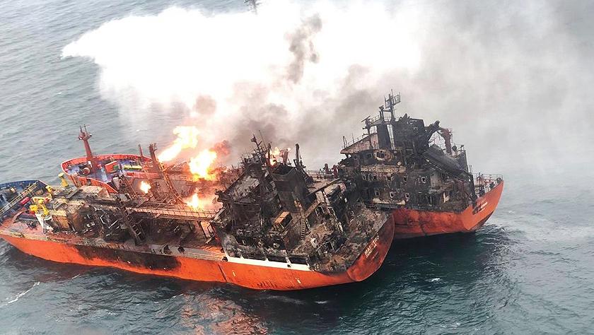 刻赤海峡货轮起火事故失踪人员无生还希望