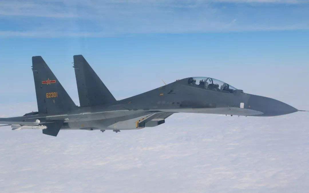 台媒称解放军空军绕台飞行:系今年首次 突破第一岛链