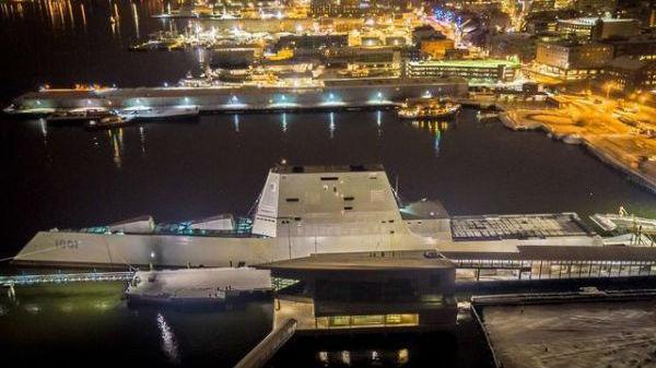 舰艇杀手还是失败试验品?美海军朱姆沃尔特级2号舰入役