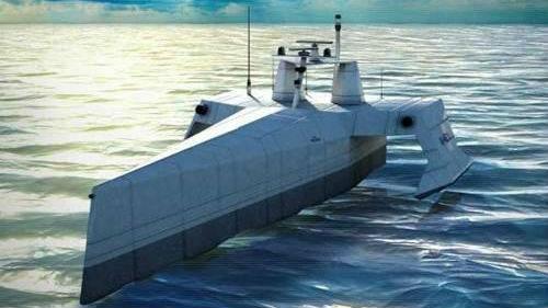 """美海军""""稳妥""""推动无人化:安排舰员登上无人舰 先建立信任"""