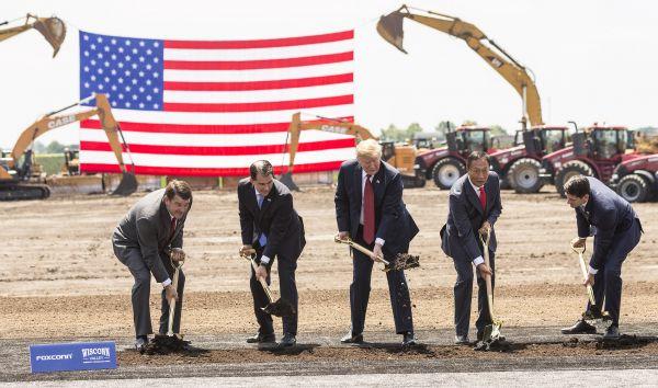 富士康美国工场要变身 特朗普再起制造业算盘恐失去