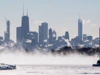 美国芝加哥迎来25年来最低气温