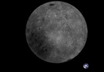 """英媒称中国卫星拍下""""迄今最棒""""月地同框照"""