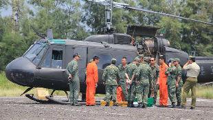 """台军UH-1H直升机""""解除战备"""" 结束在台40余年服役历史"""