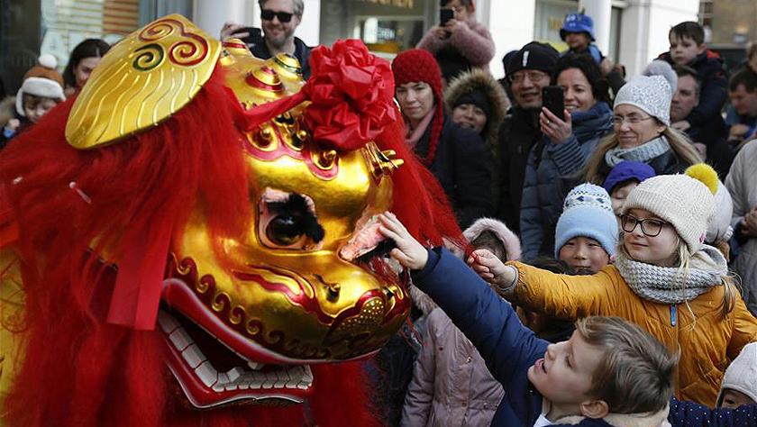 世界各地举行活动庆祝中国农历春节