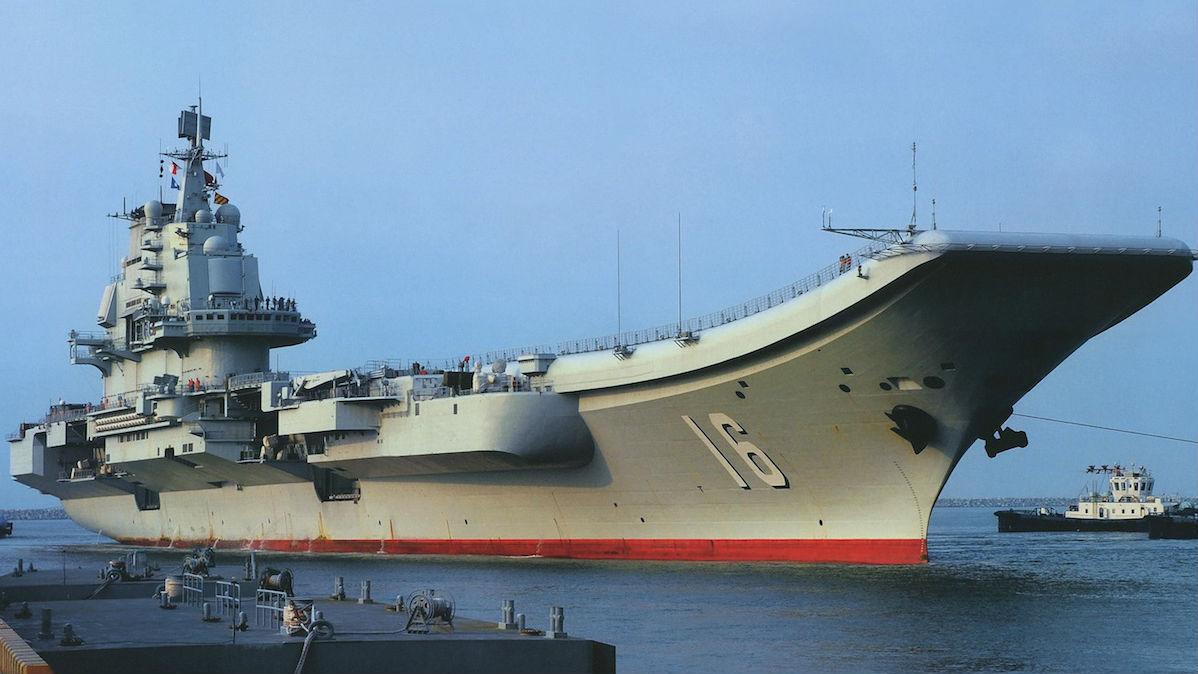 港媒:中国首艘航母辽宁舰或加装电磁弹射器