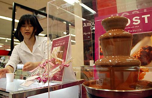 巧克力热卖
