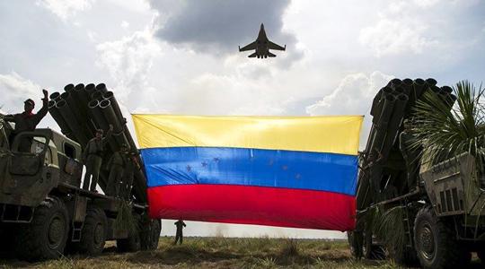 向美秀肌肉!委内瑞拉举行最大范围军演