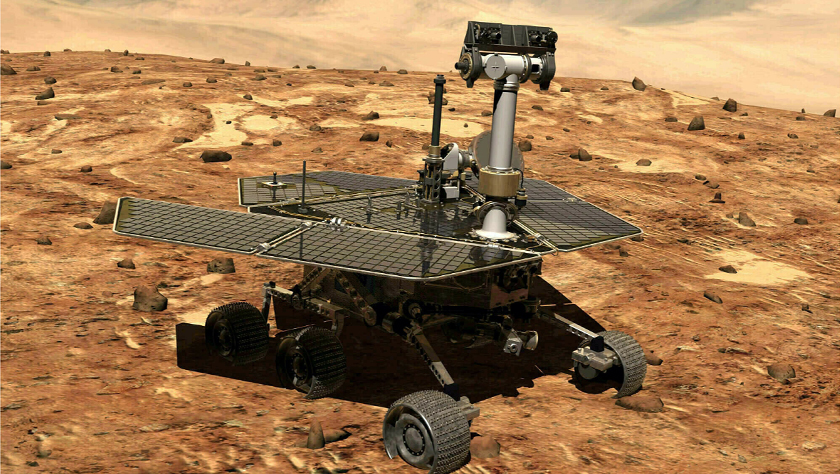 """美航天局最后一次尝试唤醒""""机遇""""号火星车"""