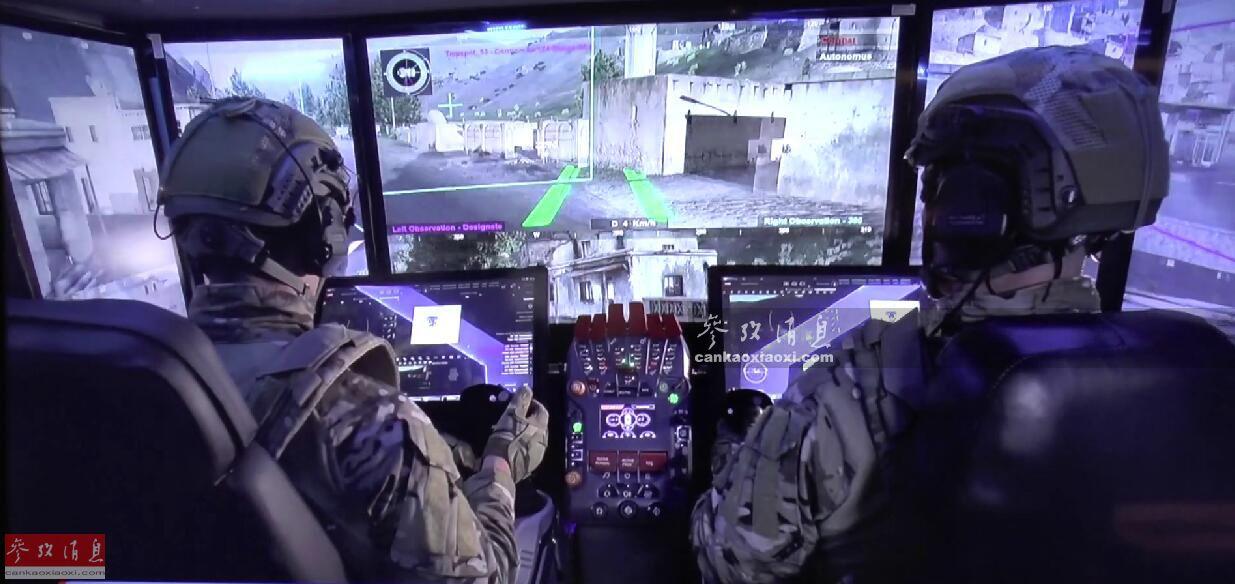 """第一眼看到图中这个作战界面,人们通常会先想到是在战舰或者战机的座舱内,实际这是以色列拉斐尔防务公司,在2019""""伦敦国际装甲车辆论坛""""上最新推出的""""未来装甲车套件""""设想方案。按这一方案,以色列陆军的""""卡梅尔""""(Carmel)未来坦克很有可能将其实现。35"""
