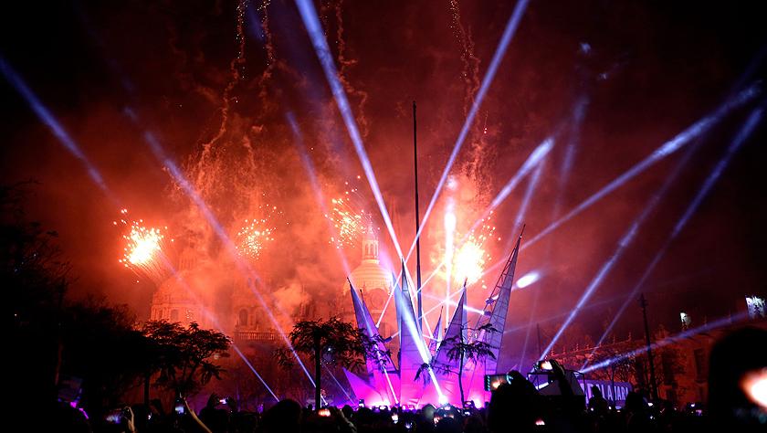 瓜达拉哈拉庆祝建城477周年