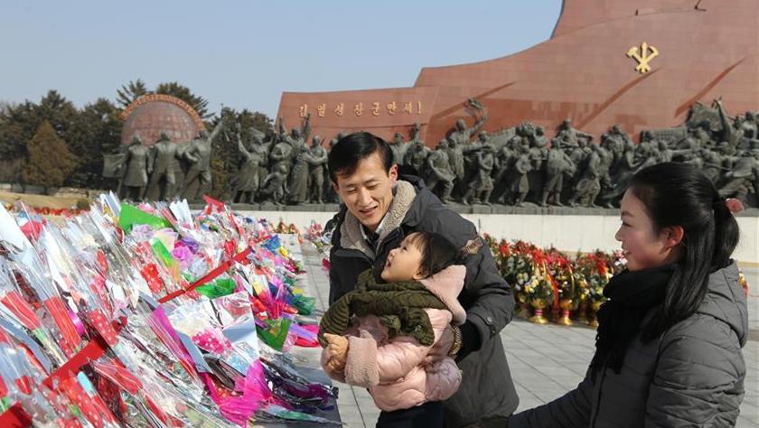 朝鲜举办活动纪念金正日诞辰77周年