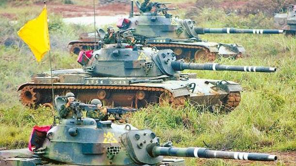 台军耗巨资研发坦克车内通信系统 一年仅生产出一套
