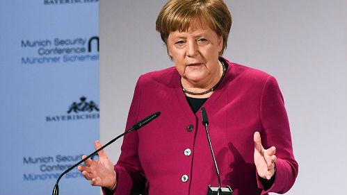 外媒:默克尔吁挽救《中导条约》 中方明确反对条约多边化