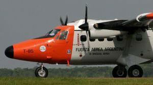 阿根廷空军53年后重返南极 飞机曾参加马岛战争