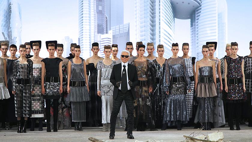 全球知名时装设计师卡尔·拉格菲尔德逝世