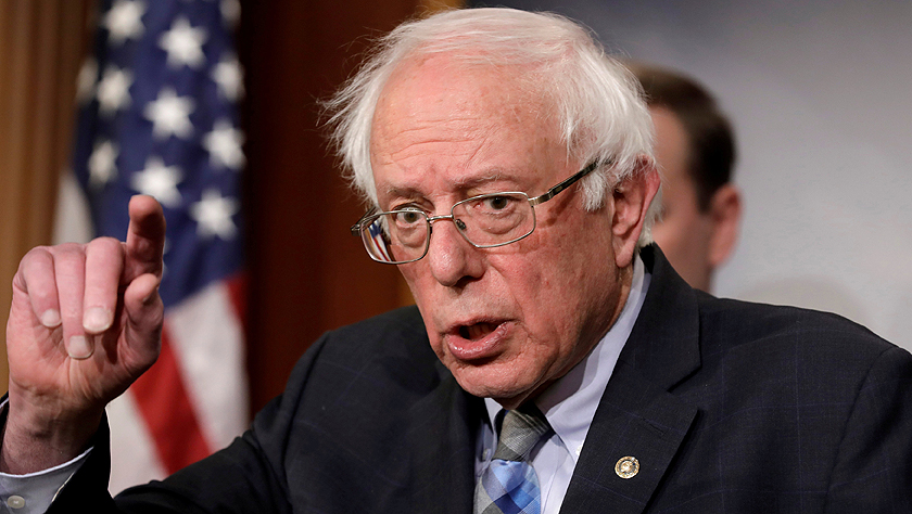 美国联邦参议员桑德斯宣布再度竞选总统