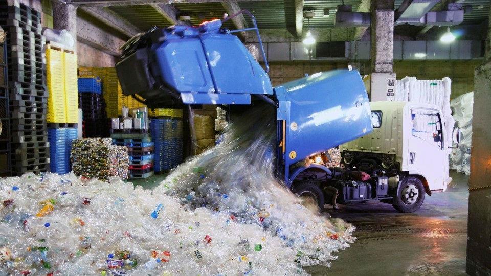 """日媒:中国拒收""""洋垃圾""""后 日本塑料垃圾无处可去堆积国内"""