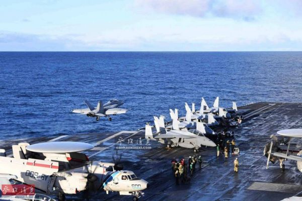 """频繁部署、前途难料!""""杜鲁门""""号航母重返海上引猜测"""