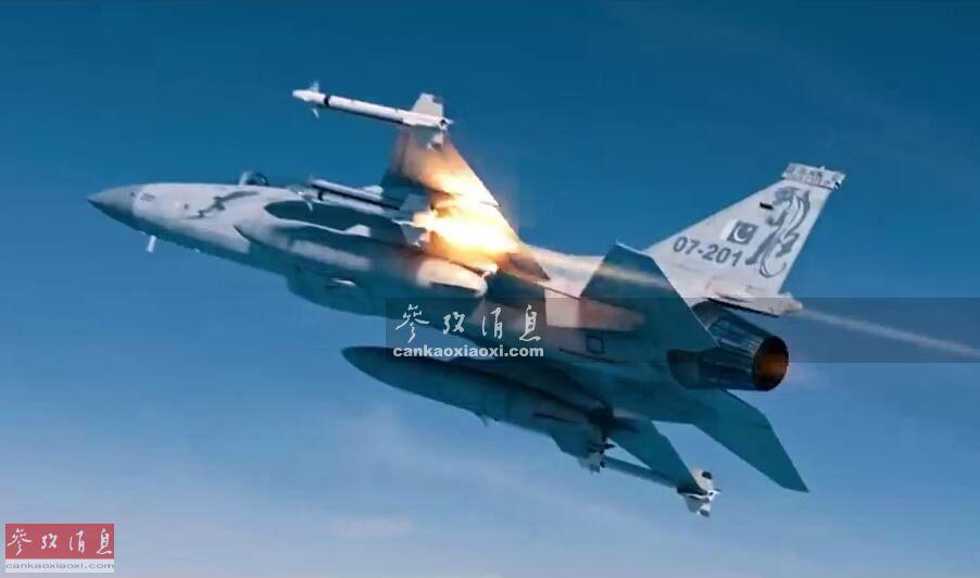 """2月27日,据巴基斯坦Samaa电视台报道称, 克什米尔地区实控线巴方一侧,巴基斯坦空军JF-17""""雷电""""(FC-1""""枭龙"""")战机,成功击落一架印度空军米格-21 Bison战机。印度空军也证实当天在该地区损失一架米格-21战机。如果报道属实,这是JF-17服役以来的首个空对空战果。图为巴基斯坦空战电影《Sherdil》剧照,JF-17发射空空导弹瞬间。5"""