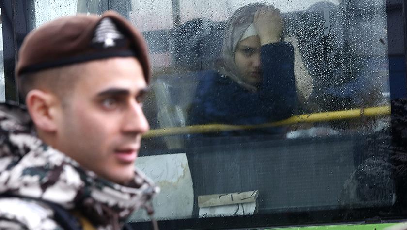 黎巴嫩组织新一批叙利亚难民回国