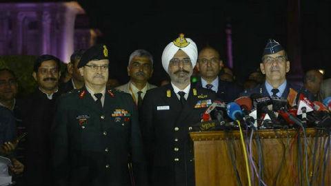 """外媒:印度空军拿出击落巴基斯坦F-16的""""证据"""""""