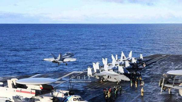 """美军或让一艘航母提前20年退役 美媒称实为""""讨价还价"""""""