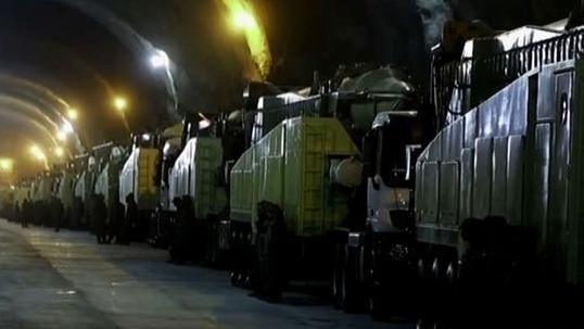 """外媒称伊朗""""地下城""""储藏大量导弹:随时准备对美航母""""咆哮"""""""