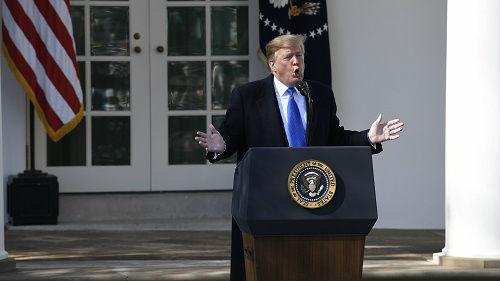 """特朗普把欧盟当敌人?美媒:""""美国优先""""正让美国被孤立"""
