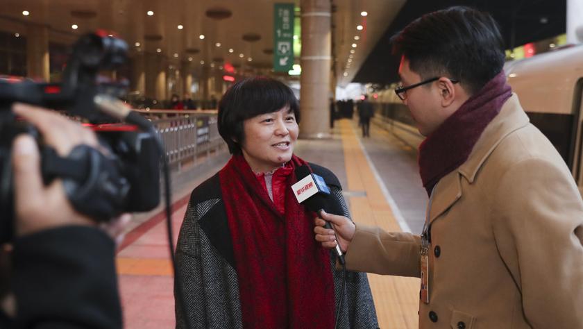 出席全国政协十三届二次会议的委员陆续抵京