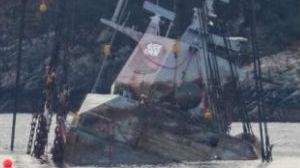 """挪威开始打捞2018年沉没的""""宙斯盾""""舰"""
