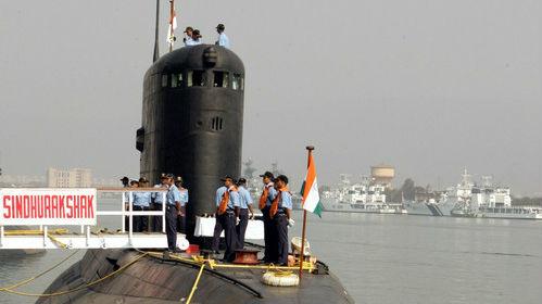 印媒:印度将花费30亿美元向俄租用第三艘核潜艇